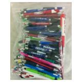 100 Assorted Promotional Pens