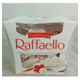 Box of Ferrero Cofettrria Raffaello Chocolates -