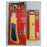 Olga Snap Off Knife & Reacement Blades - NEw