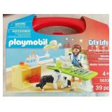 Playmobil City Life Vet Visit Carry Case - NEW