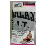 Everlast Fit Microfiber Yoga Mat Towel - NEW
