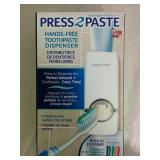 Press 2 Paste Hands Free Toothpaste Dispenser