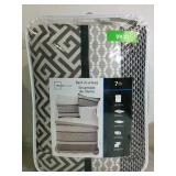 Mainstays 7 Piece Bed In A Bag Queen - NEW
