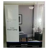 Mainstays 3 Way Floor Lamp - NEW OPEN BOX