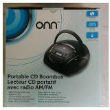 ONN CD Portable Boombox