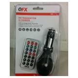QFX FM Transmitter & Charger