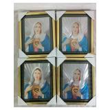 4 Religious Light Up Photo Frames - NEW