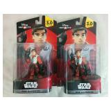 2 Star Wars Poe Dameron Action Figures - NEW