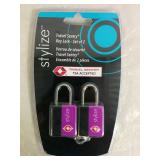 Set of 2 Stylize Travel Sentry Key Lock - NEW
