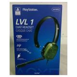 PlayStation LVL 1 Chat Headset