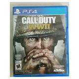 PS4 Call Of Duty WWII Game