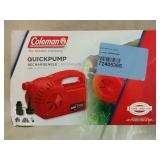 Coleman Quick Pump Rechargable Pump