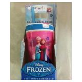 Disney Frozen 2 in 1 Snack & Drink Cup - NEW