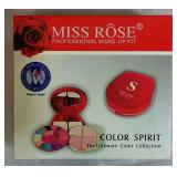 Miss Rose Professional Make-Up Kit - NEW