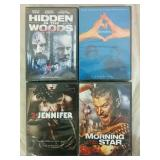 4 Assorted DVD