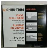 Shir-Trim Vinyl Wall Base 4 Inches x 100 Feet