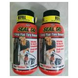 2 Seal N Go 1 Step Flat Tire Repair Refills - NEW