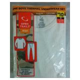 Boys Size Large 10/12 Thermal Underwear Set