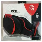 Xpert Pro Foldable Headphones - NEW