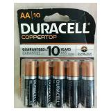 19 Duracell AA Batteries - NEW