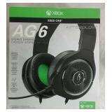 XBox One Afterglow AG6 Stereo Gaming Headset