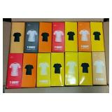 99 Assorted Size Egyptian Cotton T-Shirts - NEW