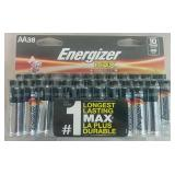 Energizer Max 38 AA Batteries - READ