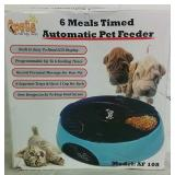 6 Meal Timed Automatic Pet Feeder