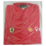 Shell Ferrari V-Power Manager Shirt Medium - NEW