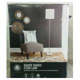 Home Trends Square Shaded Floor Lamp