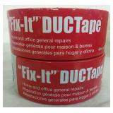 2 Rolls Fix-It Duct Tape - NEW