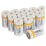 12 Amazon Basics D Alkaline Batteries - NEW