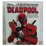 Deadpool The Complete Collection Blue-Ray DVD Set