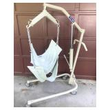 Invacare 9805P Hydraulic Patient Body Lift w/Sling