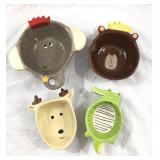Set of World Market Animal Measuring Cups