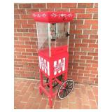 Old Fashioned Movie Time Popcorn Cart NICE!