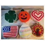 27 Handmade Crochet Holiday Doilies