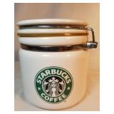 Starbucks Coffee Bean Ceramic Canister