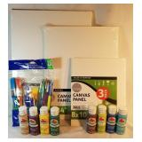 New Art Canvas Boards and Supplies