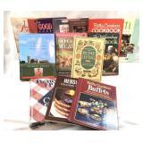 Lot of 13 Miscellaneous Cookbooks