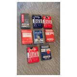 (8) Packs of Vintage Playing Cards