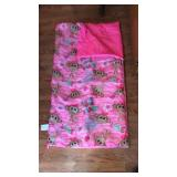 48in Girls Child Sleeping Bag LIKE NEW!