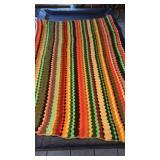 Handmade Crocheted Throw