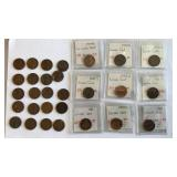(29) Wheat Pennies