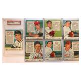 (7) 1955 Red Man NL All Star Series Cards