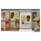 (7) 1955 Red Man NL Series Cards No Tabs
