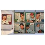 (7) 1955 Red Man NL Series Cards