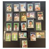 (21) 1951 Bowman Series, Range from #39 to #72