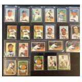 (22) 1951 Bowman Series, Range from #129 to #144
