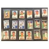 (18) 1951 Bowman Series, Range from #145 to #158